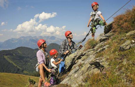 Kletterspaß für die ganze Familie