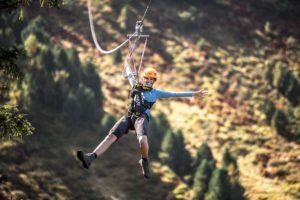 Adrenalinschub am Flying Fox