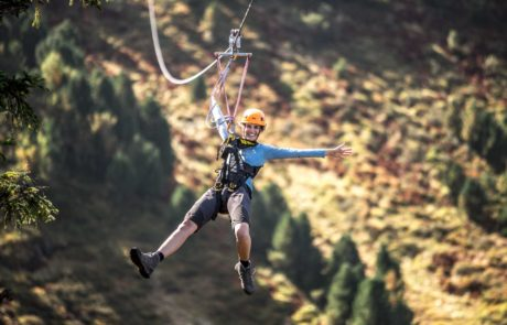 Adrenalinschub am Flying Fox
