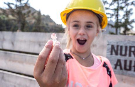 Edelsteine schürfen im Kristallpark