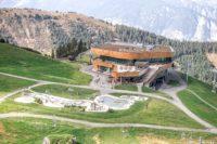 Ausblick auf die Bergstation am Spieljoch