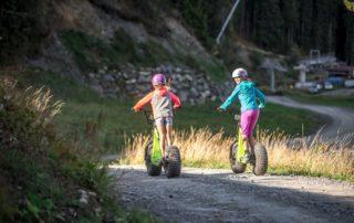 Downhillvergnügen mit den FatRollern