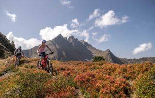 Mountainbiking im Zillertal