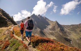 Wanderurlaub in den Bergen