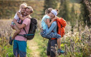 Das Familienerlebnis in der traumhaften Berglandschaft